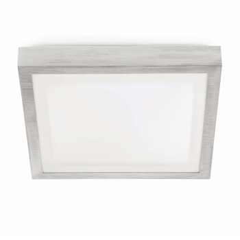 Elegan ceiling gray, protection IP44 Class II and two saving 20W