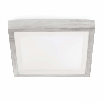 Elegan ceiling gray, protection IP44 Class II and three saving 20W