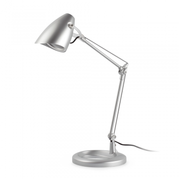 Study Lamp In Gray With 11w Energy Saving Lamp