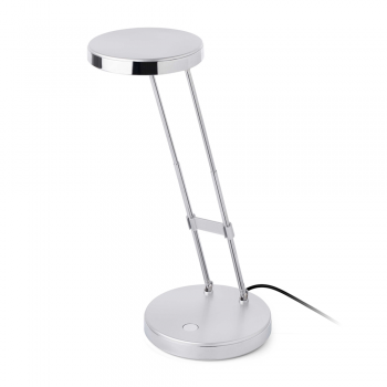 Gray Study Lamp with LED and USB 2.4 W