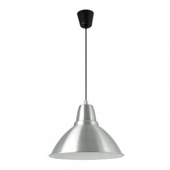 Pendant Light 380 mm diameter aluminum with Eco 42W bulb