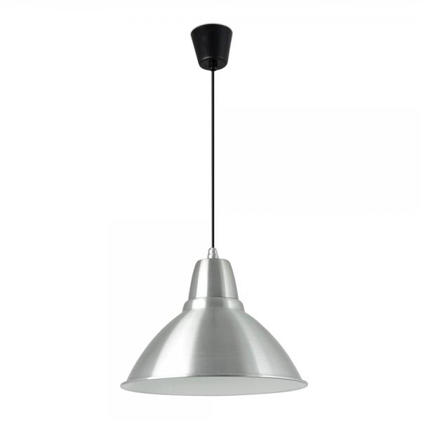Luminaria colgante di metro 380 en aluminio con bombilla - Luminarias colgantes ...