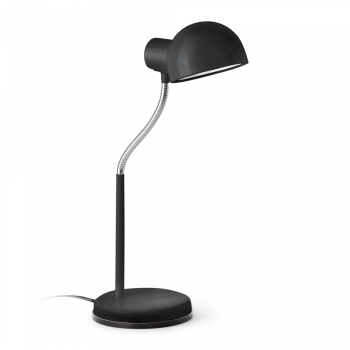 Study lamp in black with Eco Bulb 42W