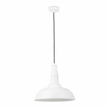 Pendant Light BAR model in white with Eco 42W bulb