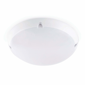 Watertight ceiling white outer two 42W bulbs Eco