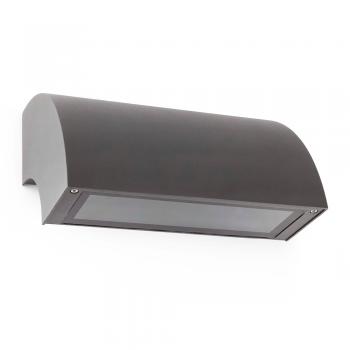 Lamp Cool dark gray with energy saving light bulb 15W cold