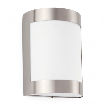Lamp stainless steel and nickel mate with Eco Bulb 42W