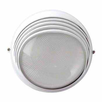 Lamp white outer visor and Eco 42W bulb