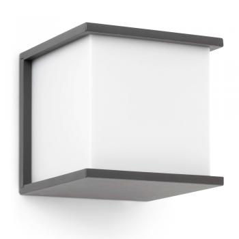 Lamp dark gray Trendy with Eco Bulb 42W
