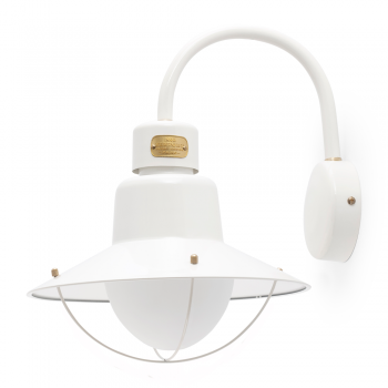 Light lamp Port in white and 42W bulb Eco