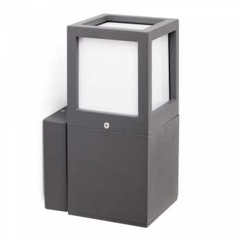 Lamp dark gray Since low-energy bulb cool 20W