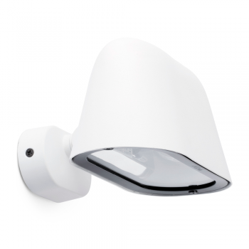 Lamp Cool in white with low energy bulb cool 20W