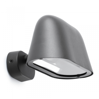 Lamp Cool dark gray with low energy bulb cool 20W
