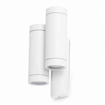 Trendy Wall Washer in white with four 35W halogen