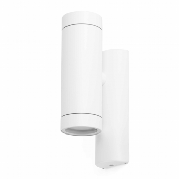 Trendy Wall Washer in white with two 35W halogen