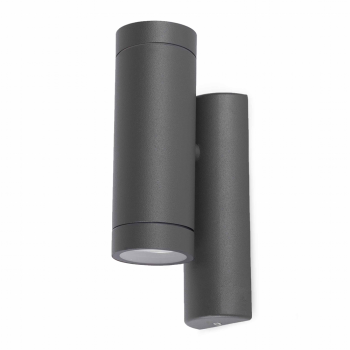 Trendy Wall Washer in black with two 35W halogen