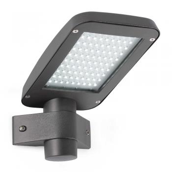 Aplique Vial en gris oscuro con potente panel LED de 6W - 509 Lm frío