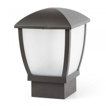 Modern outdoor Sobremuro dark gray Eco 42W bulb