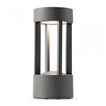 Beacon vanguard 20 cm dark gray with 5W LED warm