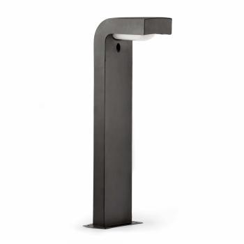 Baliza vanguardista de 66 cm en gris oscuro