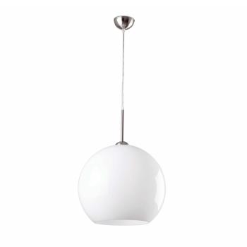 Lámpara de diseño vanguardista blanca de 35 cm con portalámpara E27
