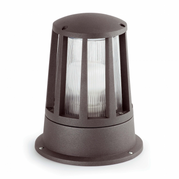 Beacon in dark gray with low energy bulb cool 20W