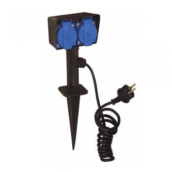 https://www.laslamparas.com/922-2466-thickbox_default/estaca-con-dos-enchufes-con-tt-max-2000w-y-dos-metros-de-cable.jpg