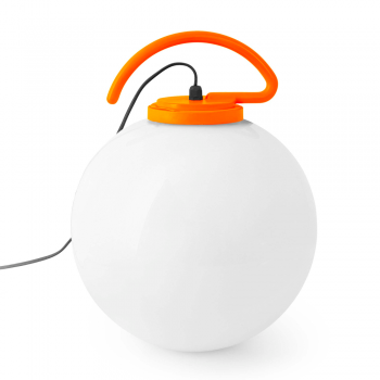 Cool Portable Lamp with orange bulb 42W Eco