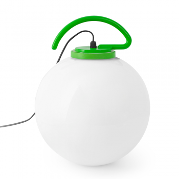 Cool Portable Lamp in green with Eco Bulb 42W