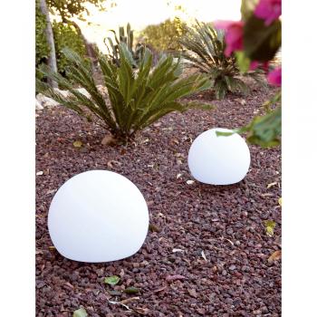 Lámpara portátil Terra-40 en blanca