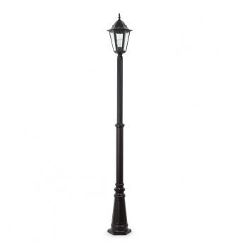 Farola clásica en color negro con una bajo consumo de 20W fría