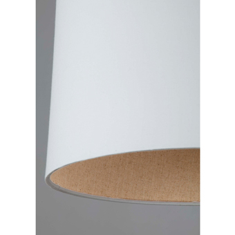 Lámpara colgante Neo trendy blanca