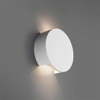 Aplique de pared fabricado en yeso con LED Cree de 4W tono cálido