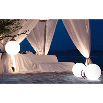 Portable Lamp with fuchsia Cool Eco 42W bulb