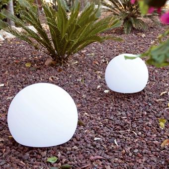 Lámpara portátil Terra-50 en blanca
