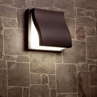 Lamp Vanguardist in dark gray with two 15W saving