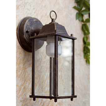Lamp brown retro energy saving light bulb 15W cold