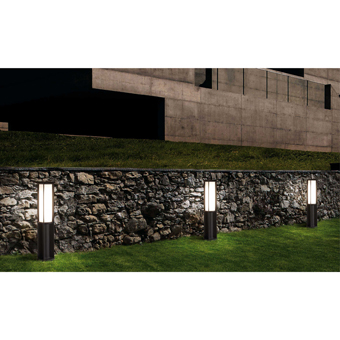 Beacon modern 85 cm dark gray with 24W LED