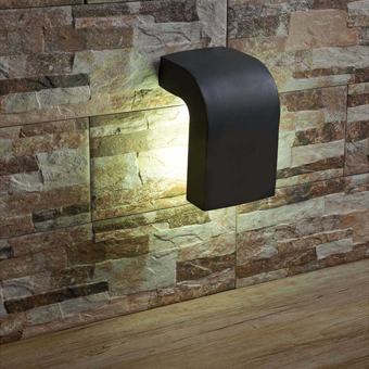 Venta online de l mparas de pared de dise o for Apliques iluminacion exterior pared